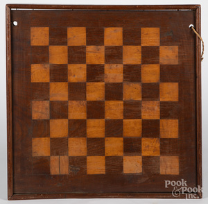 Two Parquetry gameboards, late 19th c.