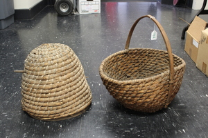 Pennsylvania rye straw bee skep