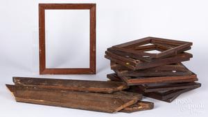 Group of antique frames.