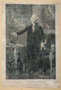 Unframed prints, many historical