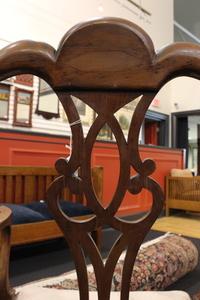 Philadelphia Chippendale walnut armchair