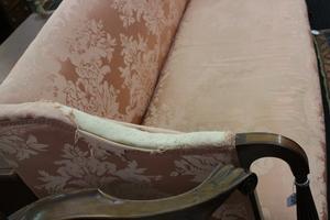 New England Sheraton mahogany sofa, ca. 1810