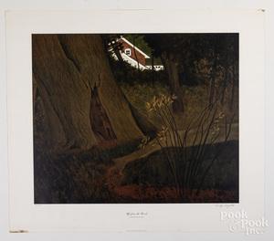Carolyn Wyeth three signed prints