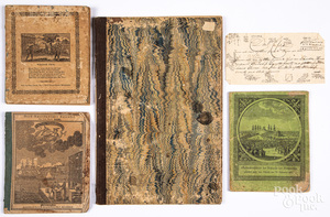 Three early printed booklets