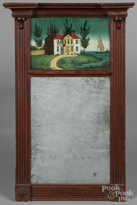 Two Federal mirrors, 19th c.