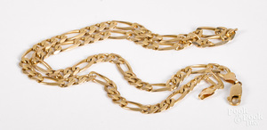 10K gold necklace 14.1 dwt.