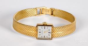 Movado 18K gold ladies wristwatch