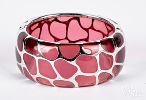 Angelique de Paris sterling silver bracelet
