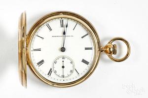 14K gold Waltham ladies pocket watch