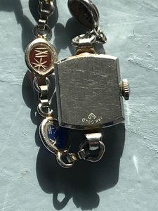 14K gold Longines ladies wristwatch