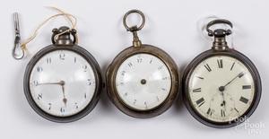 Key-wind pocket watch, etc.
