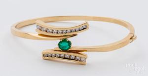 Robert Trisko 14K yellow gold bracelet