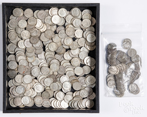 Truman and Winged Liberty Head Silver Dimes