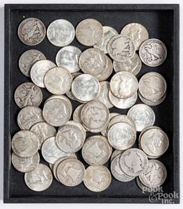 US silver half dollars