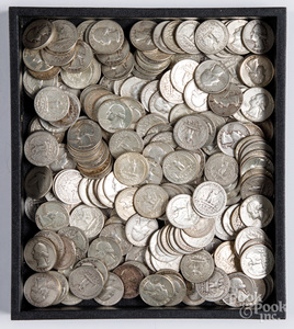 US silver quarters, 51.1 ozt.