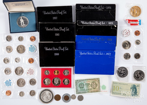 US proof sets, Liberty Eagle 1ozt fine silver coin