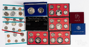 US coins and commemoratives, etc.