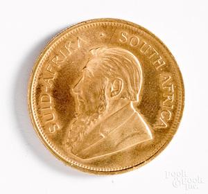 South Africa 1983 1 ozt. fine gold Krugerrand.