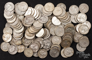 Silver quarters, 30.4 ozt.