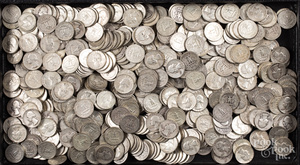 Silver quarters, 119.6 ozt.