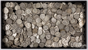 Silver quarters, 119.1 ozt.