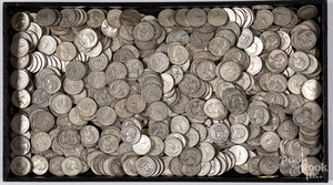 Silver quarters, 119.3 ozt.