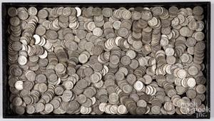 Silver dimes, 80.8 ozt.