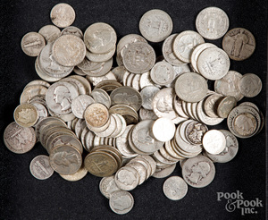 US silver coins, 23.1 ozt.