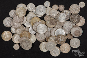 US silver coins, 20.6 ozt., etc.