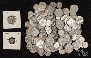 US silver coins, 25.2 ozt., etc.