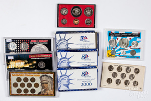 US proof and special coin sets