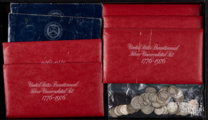 US silver coins, 4.7 ozt.