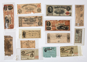 Paper currency and certificates