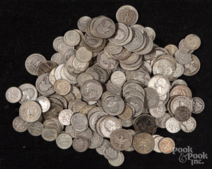 US silver coins, 26.8 ozt.