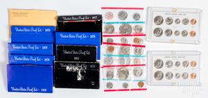 US mint sets.