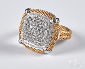 Alor 18K gold ring
