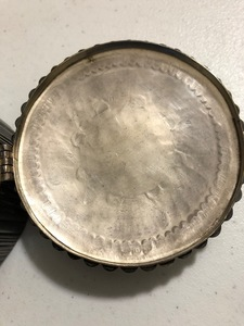 Good Zuni Indian sterling silver lidded box