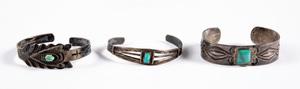 Vintage southwestern Native American bracelets