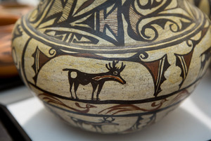 Zuni Indian pottery vessel