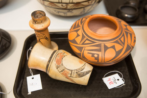 Three pieces of Hopi Indian pottery