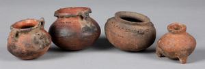 Costa Rican pre-Columbian pottery vessels