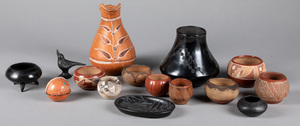 Group of Native American Indian and tribal potter