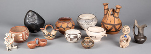 Native American Indian and tribal pottery