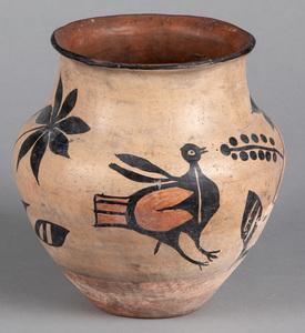 Pueblo Indian pottery jar