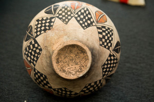 Pueblo Indian pottery jar