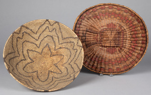 Two southwestern Indian baskets, to include a Pap