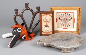 Miscellaneous Native American Indian material, to