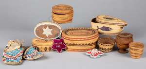 Group of Native American Indian artifacts, to inc