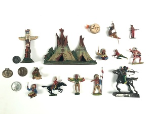 Large group of Native American decorative arts