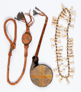 Three Cree Indian items